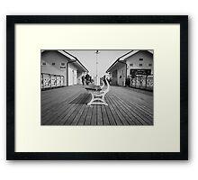 Penarth Pier on a Sunday Morning Framed Print