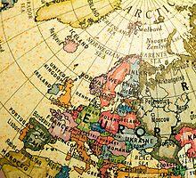 Mini Globe Europe and Russia by totorat