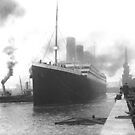 Titanic at the docks of Southampton by TilenHrovatic