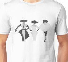 3 Fashion Models Unisex T-Shirt