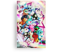 character pile Canvas Print