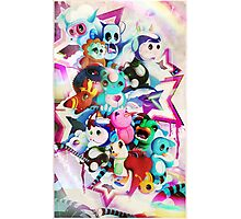 character pile Photographic Print