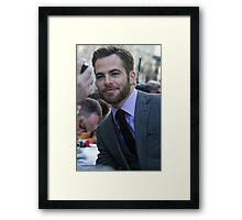 Chris Pine Framed Print