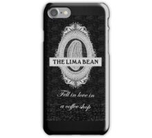 Lima Bean (with text) iPhone Case/Skin