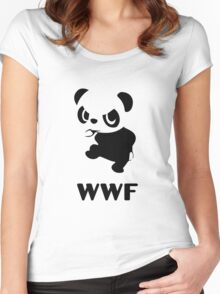 Yancham WWF Tee Women's Fitted Scoop T-Shirt