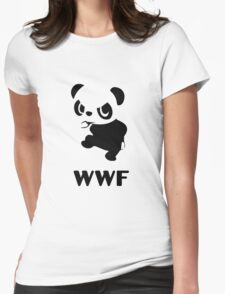 Yancham WWF Tee Womens Fitted T-Shirt