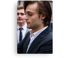 Douglas Booth Canvas Print