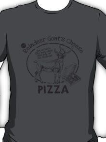 Reindeer Goat's Cheese Pizza - Bruce Willis T-Shirt