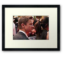 Jeremy Renner Framed Print