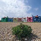 Colourful Accommodation  by Nigel Bangert