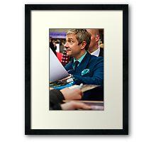 Martin Freeman Framed Print