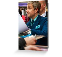 Martin Freeman Greeting Card