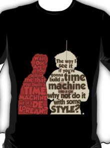 Back to the Future: A Time Machine out of a DeLorean T-Shirt