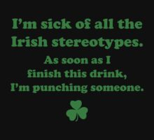 Irish Stereotypes by BrightDesign