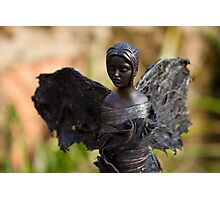 Celeste - Fabric-wrapped garden sculpture Photographic Print