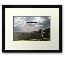 The Dam Busters over The Derwent Framed Print