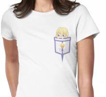 Pocket Colette Brunel Womens Fitted T-Shirt