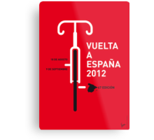 MY VUELTA A ESPANA 2012 MINIMAL POSTER Metal Print