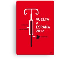 MY VUELTA A ESPANA 2012 MINIMAL POSTER Canvas Print