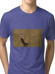 Gone Fishing Tri-blend T-Shirt