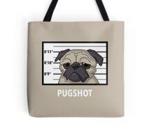 Police Pugshot Tote Bag