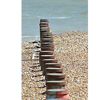 Eastbourne Beach Photographic Print