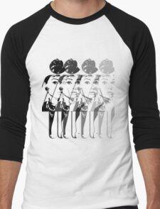 Audrey Hepburn 2 Men's Baseball ¾ T-Shirt