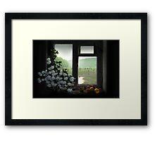Windowstill Framed Print