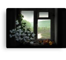 Windowstill Canvas Print