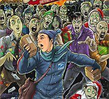 Holiday Zombie Apocalypse - SheVibe Cover Art by shevibe
