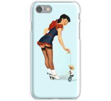Stick 'em Up! Pin Up girl iPhone Case/Skin