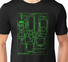 Alcohol By Volume Design (Green) T-Shirt