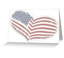 Love America Greeting Card