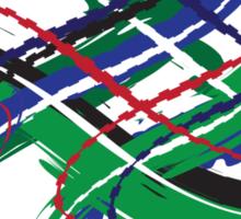 Sutherland Tartan Twist Sticker
