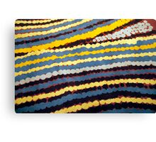 Aboriginal Art Canvas Print