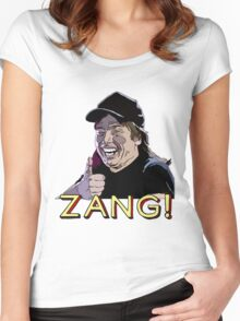 Waynes World Zang! Women's Fitted Scoop T-Shirt