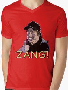 Waynes World Zang! Mens V-Neck T-Shirt