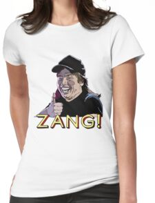 Waynes World Zang! Womens Fitted T-Shirt