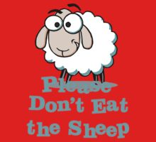 Please Don't Eat the Sheep Kids Tee