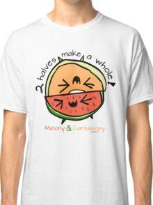 "Melony & Cantaloopy, ""Two Halves Make a Whole"" Classic T-Shirt"