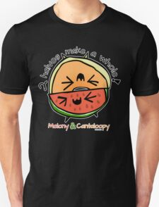 "Melony & Cantaloopy, ""Two Halves Make a Whole"" T-Shirt"