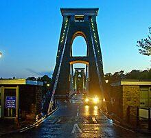 Clifton Suspension Bridge by Beverley Barrett