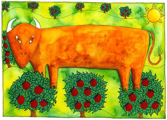 Taurus the Bull by Julie Nicholls