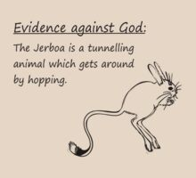 Evidence Against God: Jerboa by Sauropod8