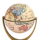 Mini Globe on stand Asia and Australia by totorat