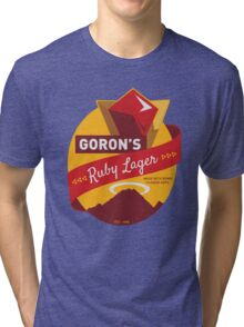 Ruby Lager Tri-blend T-Shirt