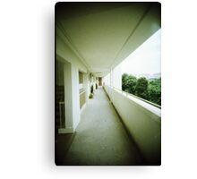 Corridor of Familiarity - Lomo Canvas Print