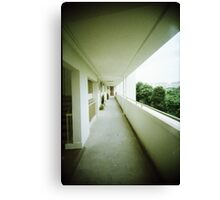 Corridor of Familiarity - Lomo Canvas Print