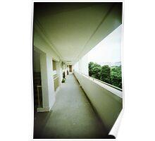 Corridor of Familiarity - Lomo Poster