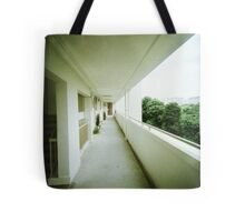 Corridor of Familiarity - Lomo Tote Bag